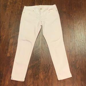 Michael Kors white jeans